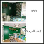 Boys room before-after