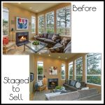 FamilyRoom - Staged