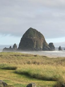 Photo of Haystack Rock in Cannon Beach, OR